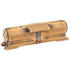 20th Century Word War I Brass Military Level, circa 1918