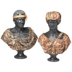 Pair of 19th Century Italian Blackamoores