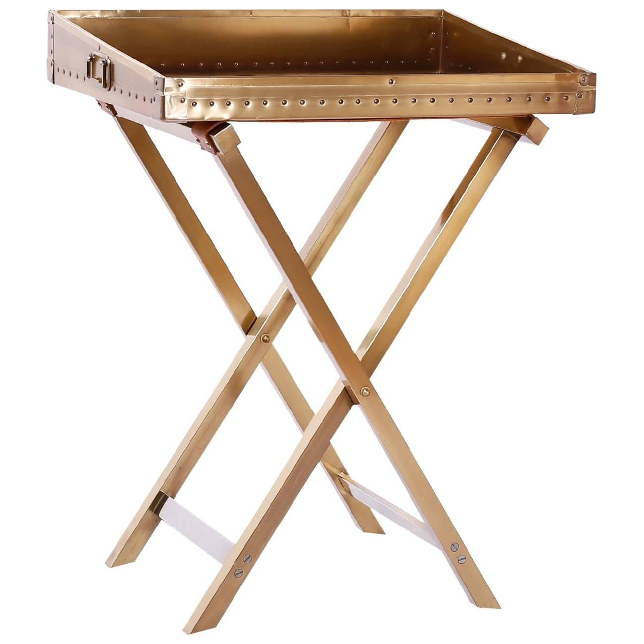 Campaign Style Foldable Bar or Tray