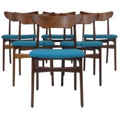Schionning & Elgaard Teak Danish Dining Chairs