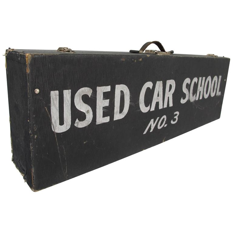 Travel Case Used Car School No. 3 1