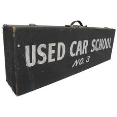 Travel Case Used Car School No. 3