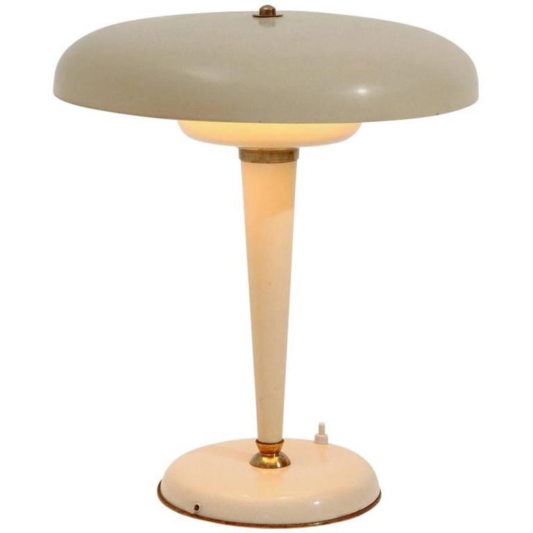 Art Deco Table Lamp 1940s At 1stdibs