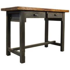 1950s Little Industrial Spanish Workbench