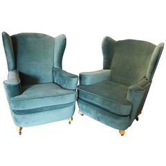 Pair of 1950s German Armchairs