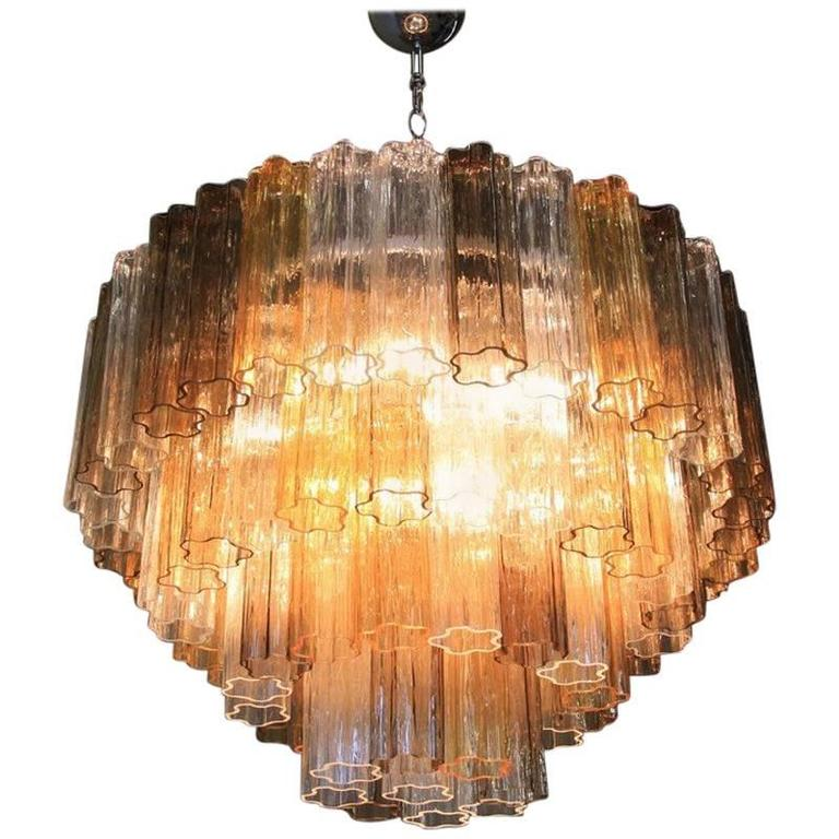 Murano Glass Chandelier 4 Layers Italy For Sale At 1stdibs