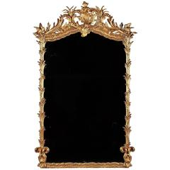 Large 19th Century Giltwood Mirror