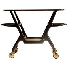 Italian Bar Cart by Cesare Lacca