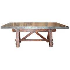 pine dining room tables - 141 for sale at 1stdibs