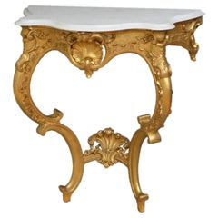 Early Victorian Gilt Console Table