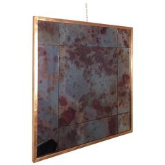 Customizable Iron Frame Mirror Copper Foil Finishing