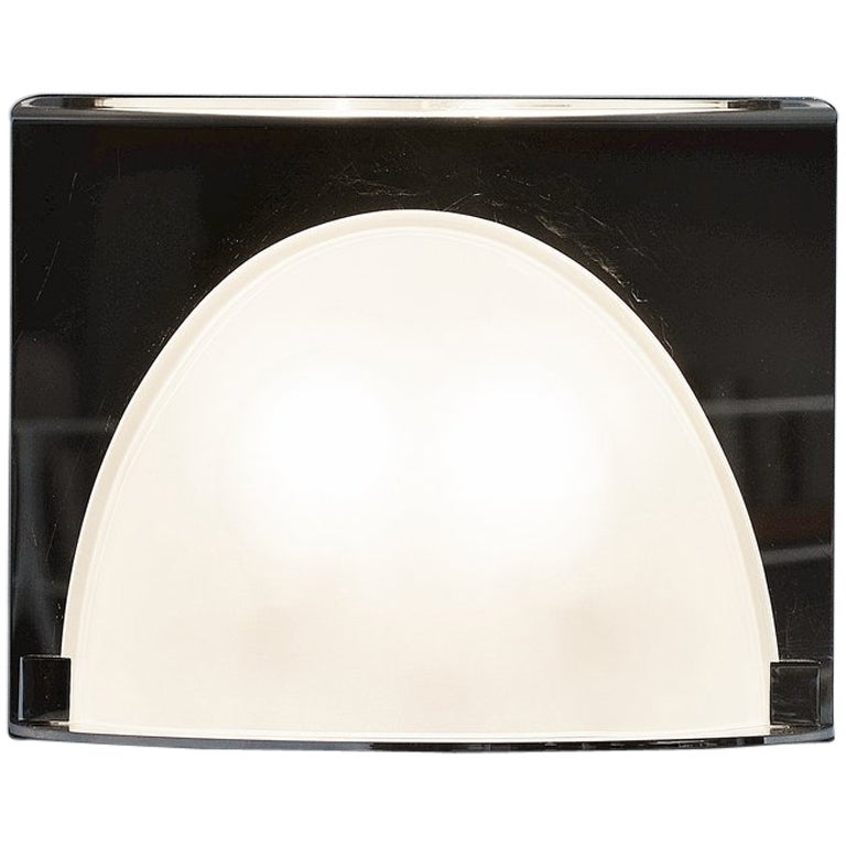Luigi Caccia Dominioni for Azucena LP 23 Chrome Wall Lamp, Italy
