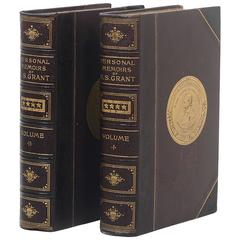 First Edition of Personal Memoirs of Ulysses S. Grant
