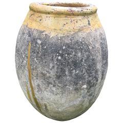 17th Century French Terracotta Biot Jar