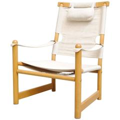Canvas Safari Campaign Chair