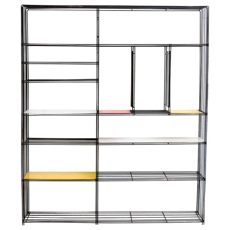 Tjerk Reijenga for Pilastro Standing Wire Bookshelf
