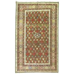 Antique Caucasian Shirvan Rug