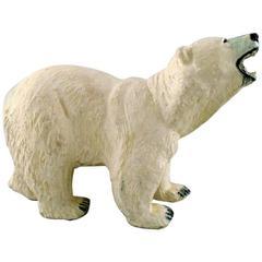 Rare Arne Ingdam, Denmark Giant Polar Bear, Ceramics