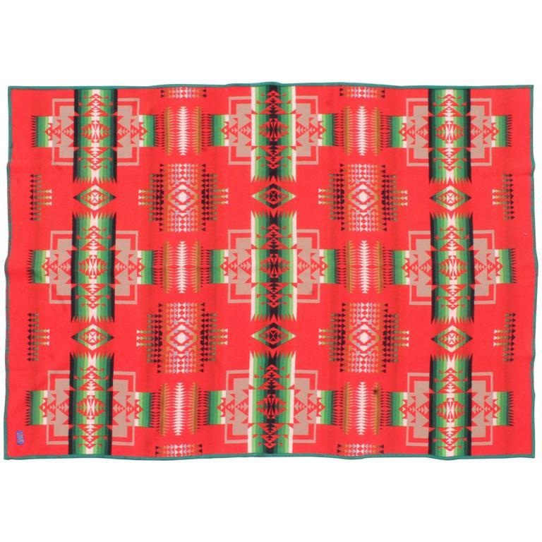 Amazing Pendleton Indian Design Camp Blanket For Sale At