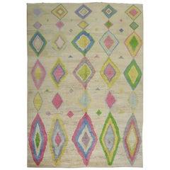 Turkish Tulu Vintage Inspired Rug
