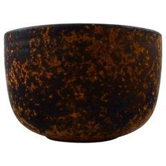 Unique Preben Brandt Larsen Ceramic Bowl, Modern Design, Denmark, 1960s