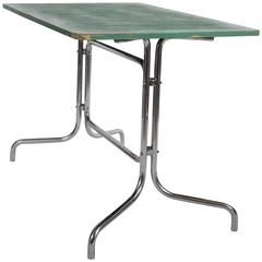 extremely rare bauhaus table by marcel breuer for mcke uamp