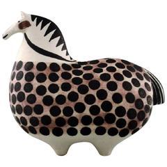 Rare Gustavsberg Studio Hand, Horse by Stig Lindberg, Swedish Ceramist