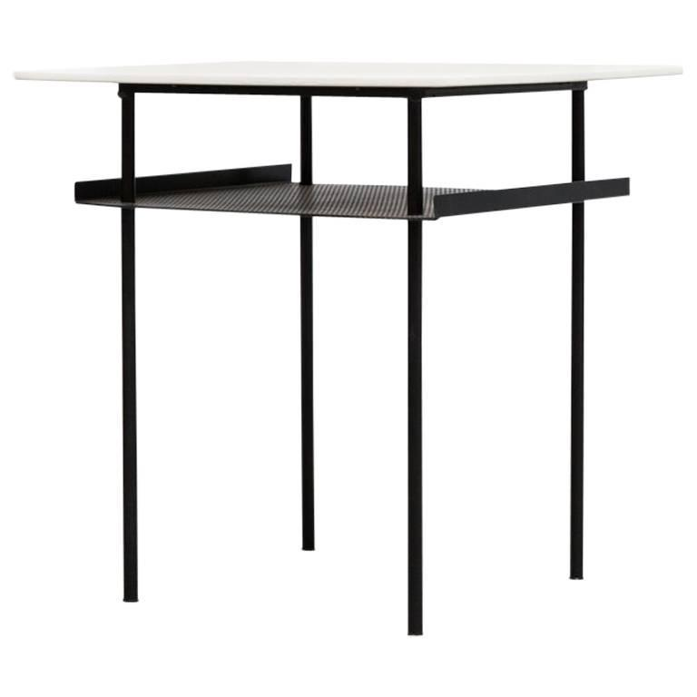 Wim Rietveld for Auping Industrial Side Table For Sale