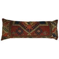 Handwoven Antique Rug Fragment Pillows