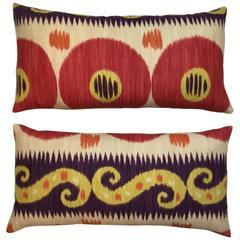 Pair of Ikat Pillows
