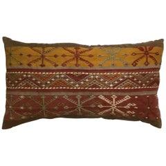 Flat-Weave Kilim Rug Fregment Pillow