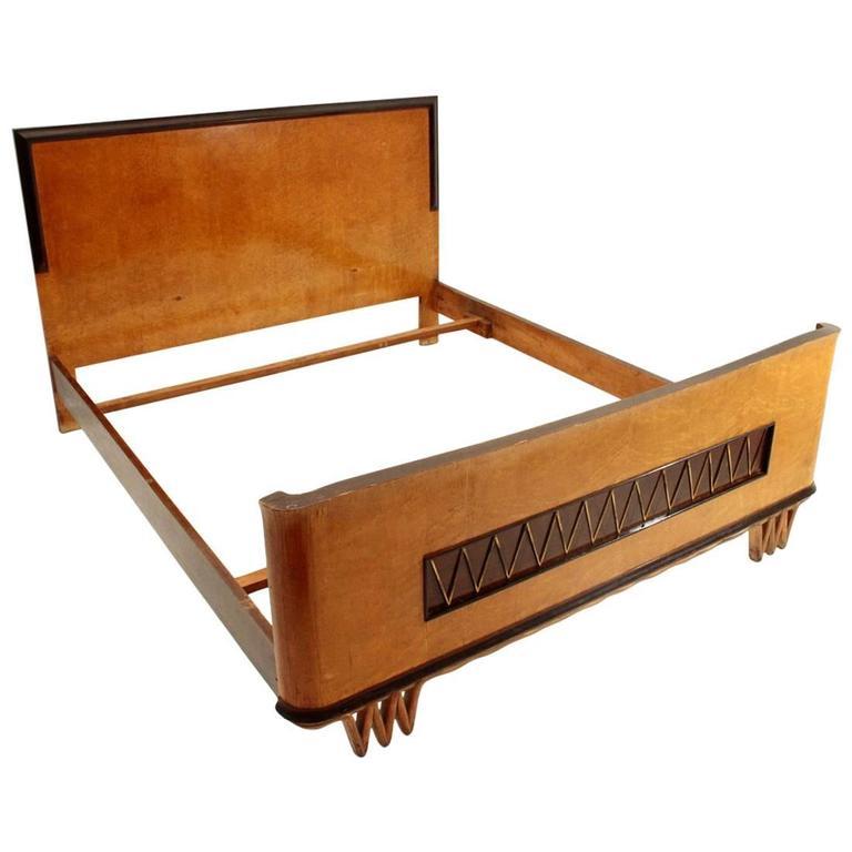 Italian Dec 242 Bed At 1stdibs