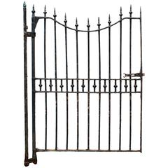 Reclaimed Late 19th Century Wrought Iron Pedestrian Gate