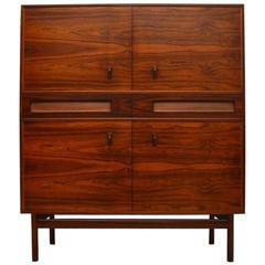 Rosewood Retro Drinks Cabinet by McIntosh Vintage, 1960s