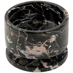 Vide Poche or Ashtray in Marble in the Style of Tail Oggetti