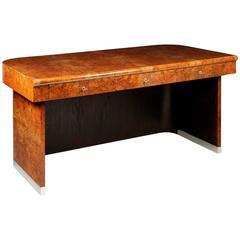 Unique Art Deco Writing Desk Designed By Architect Jindřich Halabala
