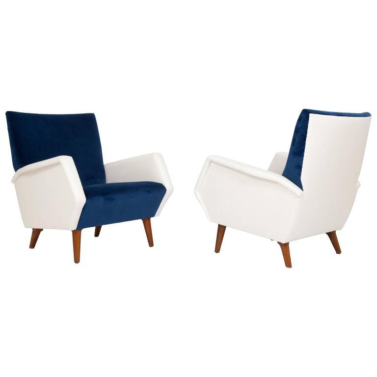 Pair of Armchairs by Gio Ponti 1
