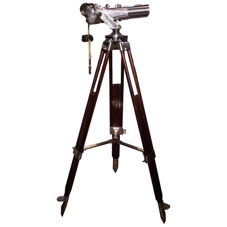 German Carl Zeiss WWII Binoculars, 1943-1945