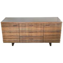 Organic Reclaimed Wood Buffet Cabinet Sideboard