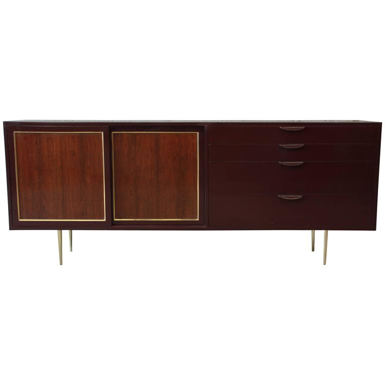 Harvey Probber Mid-Century Modern Credenza or Dresser For Sale