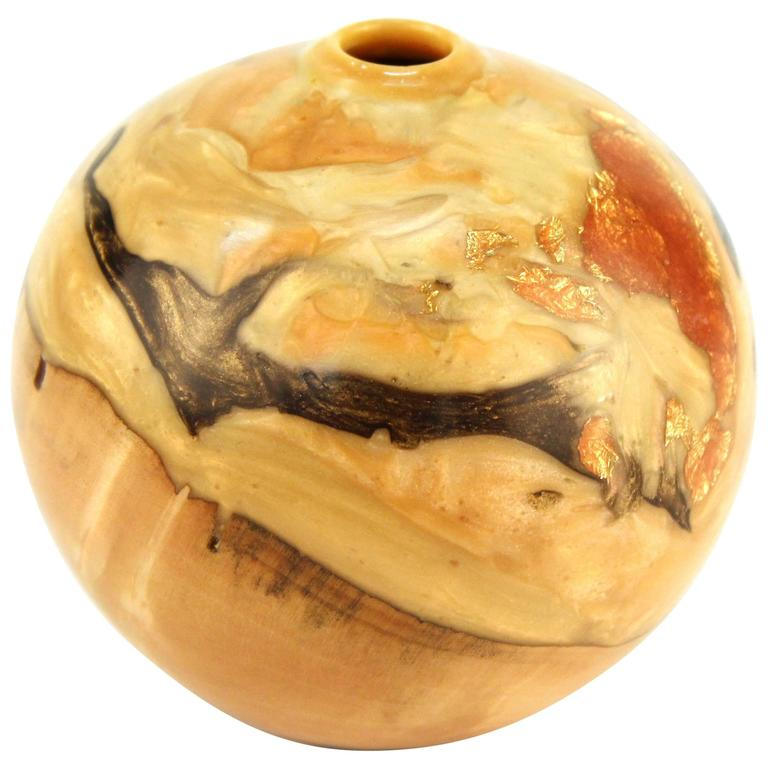 Robert W. Chatelain Box Elder Wood Vessel For Sale
