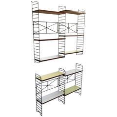 Minimalist Modular Bookshelves, Italy, 1950s