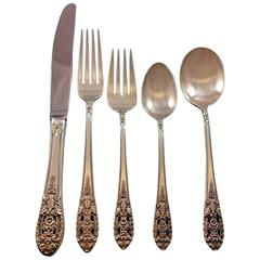 Crown Princess by Fine Arts International Sterling Silver Flatware Set Service
