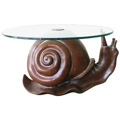 Snail Table by Federico Armijo, 1970s