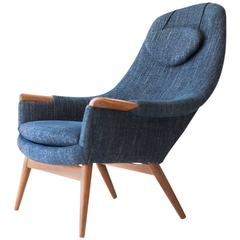 Gerhard Berg Lounge Chair for Peter Wessel Ltd