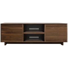 Modern LP Media Console Entertainment Cabinet