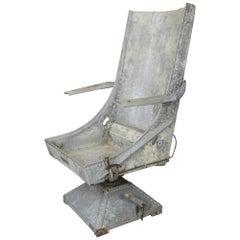 World War II Air Crewman's Seat.