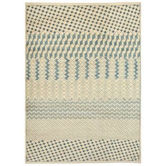 "Orley Shabahang Signature ""Lattice"" Carpet in Handspun Wool and Vegetable Dyes"