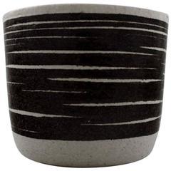 Ceramic Vase from Palshus by Per Linnemann-Schmidt, Renowned Danish Potter