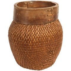 Basket Edge in Wood